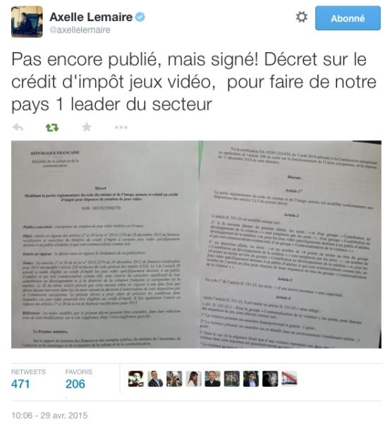 DecretAxelleLemaire_CreditImpot
