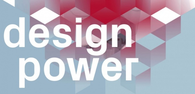 "Logo de l'exposition ""Design Power"""